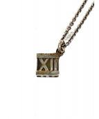 Tiffany & Co.(ティファニー)の古着「アトラスキューブネックレス」