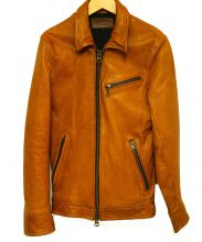 JACKROSE(ジャックローズ)の古着「レザージャケット」|ブラウン