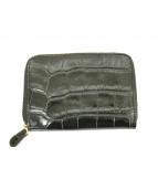 J&M DAVIDSON(ジェイ&エム デヴィッドソン)の古着「型押しレザーコインケース」|ブラック