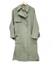 AERON(エアロン)の古着「ウールトレンチコート」|グレー