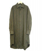 GROUND Y(グランド ワイ)の古着「ロングシャツ」