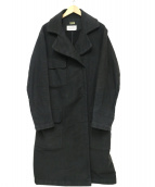 Martin Margiela(マルタンマルジェラ)の古着「ロングトレンチコート」 ブラック