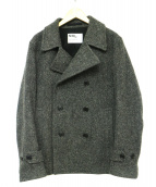 MHL.(エムエイチエル)の古着「ダブルコート」|グレー