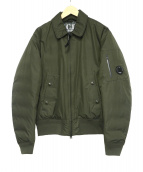 C.P COMPANY(シーピーカンパニー)の古着「アームレンズフライトジャケット」|グリーン