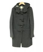 LONDON TRADITION(ロンドントラディション)の古着「ロングダッフルコート」 グレー