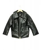 JUNYA WATANABE CDG(ジュンヤワタナベ コムデギャルソン)の古着「樹脂加工フェイクレザージャケット」|ブラック