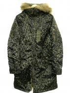 Hysteric Glamour(ヒステリックグラマー)の古着「モッズコート」|グリーン