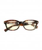 URBAN RESEARCH×金子眼鏡店(アーバンリサーチ × 金子眼鏡)の古着「伊達眼鏡」|ブラウン