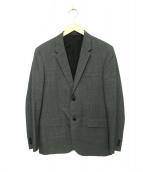 MARGARET HOWELL(マーガレットハウエル)の古着「2Bジャケット」|グレー