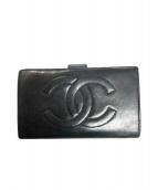 CHANEL(シャネル)の古着「財布」|ブラック