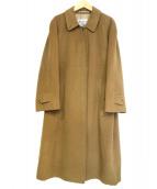 Burberrys(バーバリーズ)の古着「カシミヤ混ロングコート」|ベージュ