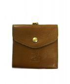 IL BISONTE(イルビゾンテ)の古着「がま口2つ折財布」