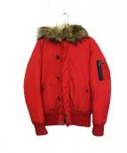 DIESEL(ディーゼル)の古着「中綿ジャケット」|レッド