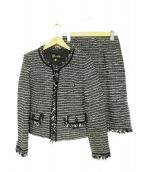 TOKYO SOIR(トウキョウ ソワール)の古着「ツイードセットアップスーツ」