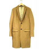 ato(アトゥ)の古着「チェスターコート」|ブラウン