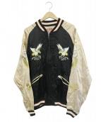 HOUSTON(ヒューストン)の古着「スーベニアジャケット」|ベージュ