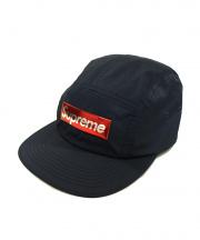 Supreme(シュプリーム)の古着「liquid metal logo camp cap」|NAVY