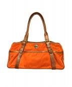 Felisi(フェリージ)の古着「トートバッグ」|オレンジ