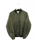 Vainl Archive(バイナルアーカイブ)の古着「MA-1ジャケット」|オリーブ