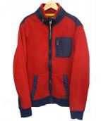 POLO RALPH LAUREN(ポロ バイ ラルフローレン)の古着「スウェットジャケット」 レッド