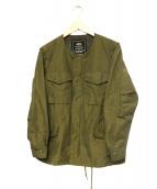 ALPHA(アルファ)の古着「M65-フィールドジャケット」 カーキ