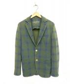 CIRCOLO 1901(チルコロ1901)の古着「テーラードジャケット」|グリーン