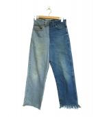 77circa(ナナナナサーカ)の古着「デニムパンツ」|ブルー