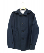 EDIFICE(エディフィス)の古着「フーデッドコート」|ネイビー