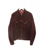 SUPREME(シュプリーム)の古着「Corduroy Snap Front Jacket」|ボルドー