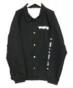 FLAGSTUFF(フラッグスタッフ)の古着「コーチジャケット」|ブラック