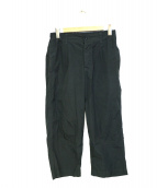 MHL(エムエイチエル)の古着「タックパンツ」|グレー