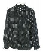 WACKO MARIA(ワコマリア)の古着「シルク混ドットボタンダウンシャツ」