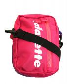 Lafayette(ラファイエット)の古着「TWO TONE SHOULDER BAG」 パープル×ピンク