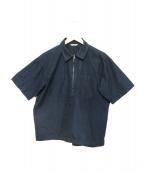 AURALEE(オーラリー)の古着「High Count Finx Chambray Shirt」|ネイビー