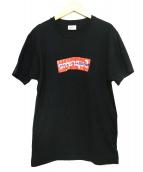 Supreme×CDG(シュプリーム×コムデギャルソン)の古着「BOX LOGO Tee」|ブラック