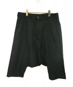 BLACK COMME des GARCONS(ブラックコムデギャルソン)の古着「ペンギンサルエルパンツ」|ブラック