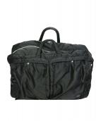 PORTER(ポーター)の古着「2WAY BOSTON BAG(S)」|ブラック