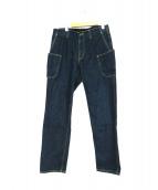 GRIP SWANY(グリップスワニー)の古着「キャンプデニムパンツ」|ブルー