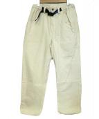 KAVU(カブ)の古着「キャンバスクライミングパンツ」 アイボリー