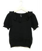 TO BE CHIC 参考定価25,000円+税(トゥビーシック)の古着「半袖ニット」