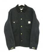 CarHartt(カーハート)の古着「カバーオール」 ブラック
