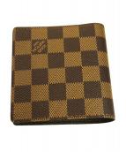 LOUIS VUITTON(ルイヴィトン)の古着「 ポルト・ビエ 6カルト クレディ」|ブラウン