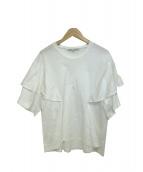 ENFOLD(エンフォルド)の古着「ブラウス」|ホワイト