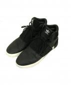 adidas(アディダス)の古着「ミッドカットスニーカー」|ブラック