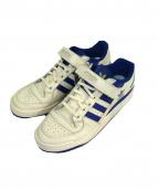 adidas(アディダス)の古着「スニーカー」|ホワイト×ブルー