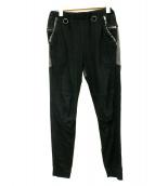 SUNSEA(サンシー)の古着「Flea Market Pants」 ブラック