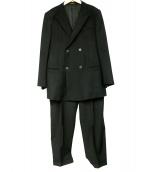 EMPORIO ARMANI(エンポリオ・アルマーニ)の古着「ダブルブレストスーツ」|ブラック
