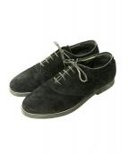 THE PARMANENT WEAR inpaichthys kerri(パーマネントウェア バイ インパクティスケリー)の古着「suddle shoes」 ブラック