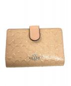 COACH(コーチ)の古着「財布」|ピンク