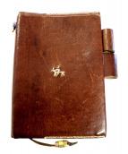HENRY CUIR(アンリークイール)の古着「手帳カバー」|ブラウン